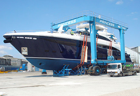Marine Hoist, Travel Lift, Boat Lift